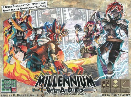 jeu Millennium Blades par Level 99