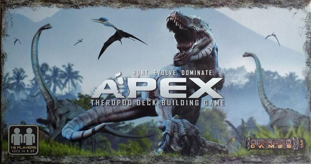 Jeu Apex Theropod Deck-Building
