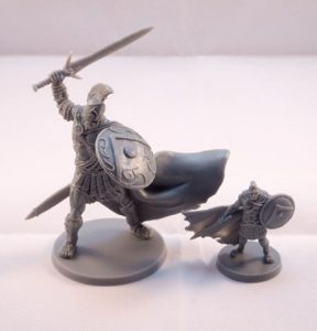 mythic battles pantheon - ares et spartiate