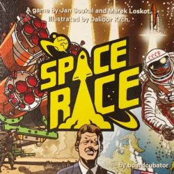 Jeu Space Race - Kickstarter Space Race de Boardcubator - KS extension Interkosmos