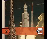 space race - cartes