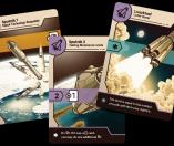 Jeu Space Race - Kickstarter Space Race de Boardcubator - KS extension Interkosmos