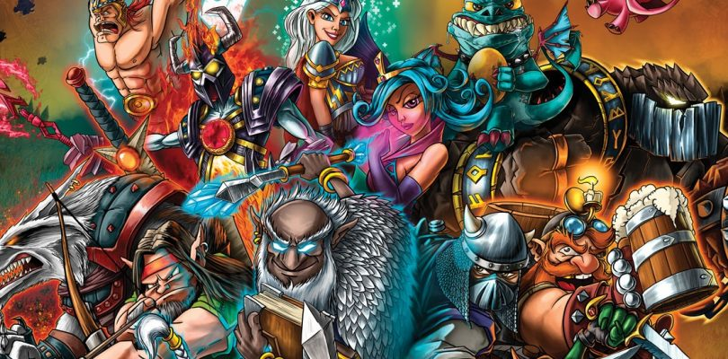 jeu vikings gone wild - kickstarter masters of elements - kickstarter Masters of Elements