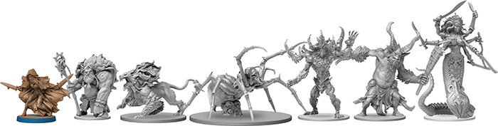 test massive darkness-figurines roaming monster