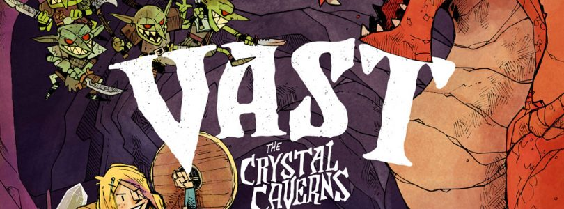 Vast crystal cavern
