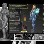 ks clash des heros - guardians chronicles-lady montagu