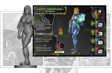 ks clash des heros - guardians chronicles-lady montagu