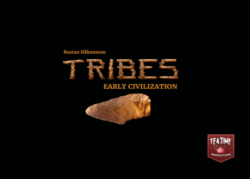 Jeu Tribes Early Civilization - Kickstarter Tribes Early Civilization - KS Tea Time Productions