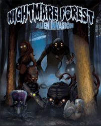 Nightmare Forest - Alien Invasion - Boite