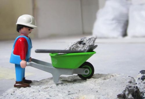 chantier en cours - playmobil