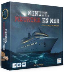 jeu Minuit Meurtre en mer - Kickstarter Minuit Meurtre en mer de Multifaces Editions - KS Multifaces