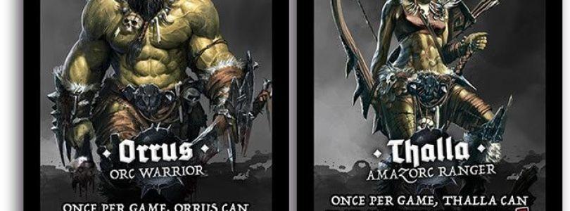 Jeu de cartes OrcQuest - Cartes Orrus & Thalla