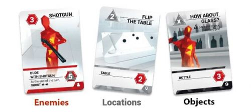 Superhot - cartes