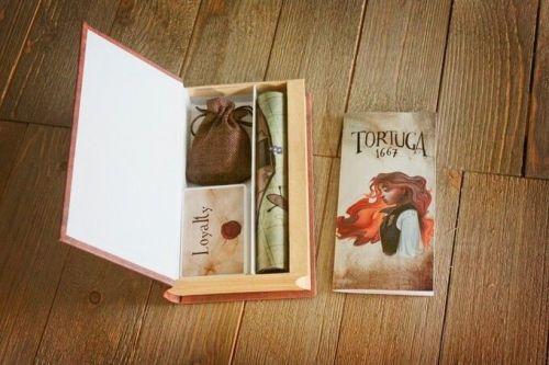 Tortuga 1667 - Boite ouverte