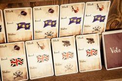 Tortuga 1667 - Cartes Vote