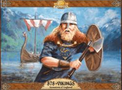 Jeu 878 Vikings - Kickstarter 878 Vikings - Invasions of England - KS Academy Games - VF Asyncron