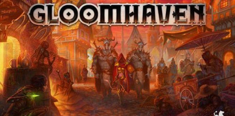 Jeu Gloomhaven - Kickstarter Gloomhaven de Isaac Childres - KS Cephalofair Games