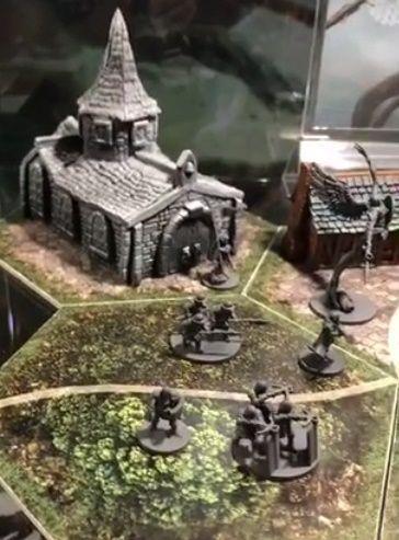Joan of Arc - Mythic Battle - Vitrine 2