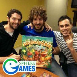 Maxime Tardif et l'équipe de Sphere Games - Fourmidable