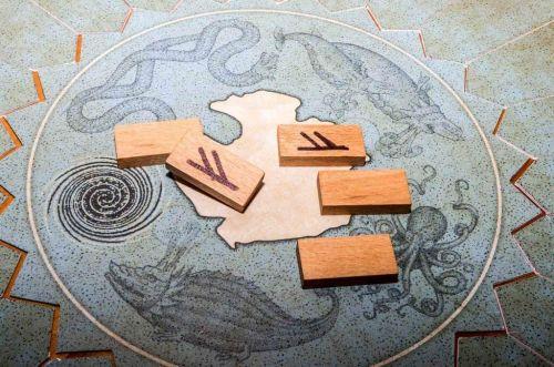 Vikingar - Lancé de runes