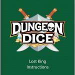 Dungeon Dice: The Lost King – VF pdf – livraison décembre 2019