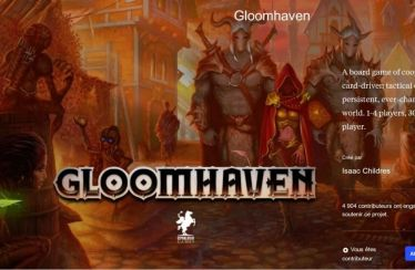 Gloomhaven - vidéo intro endevor