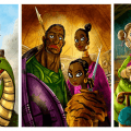 Jeu Rise to Nobility - Kickstarter Final Frontier - Illustrations