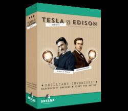 Jeu Tesla Vs. Edison: Duel - Kickstarter Tesla Vs Edison : Duel - KS Artana