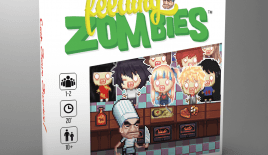 Jeu Feeding Zombies - Kickstarter Feeding Zombies de Mangrove Games - KS Julien Charbonnier