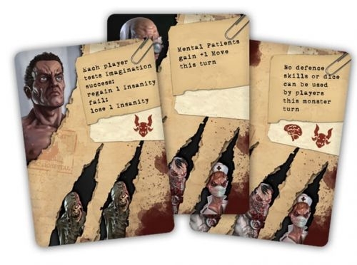 Lobotomy - Movement cards