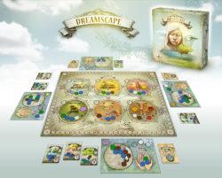 Dreamscape - Boîte et matériel de jeu