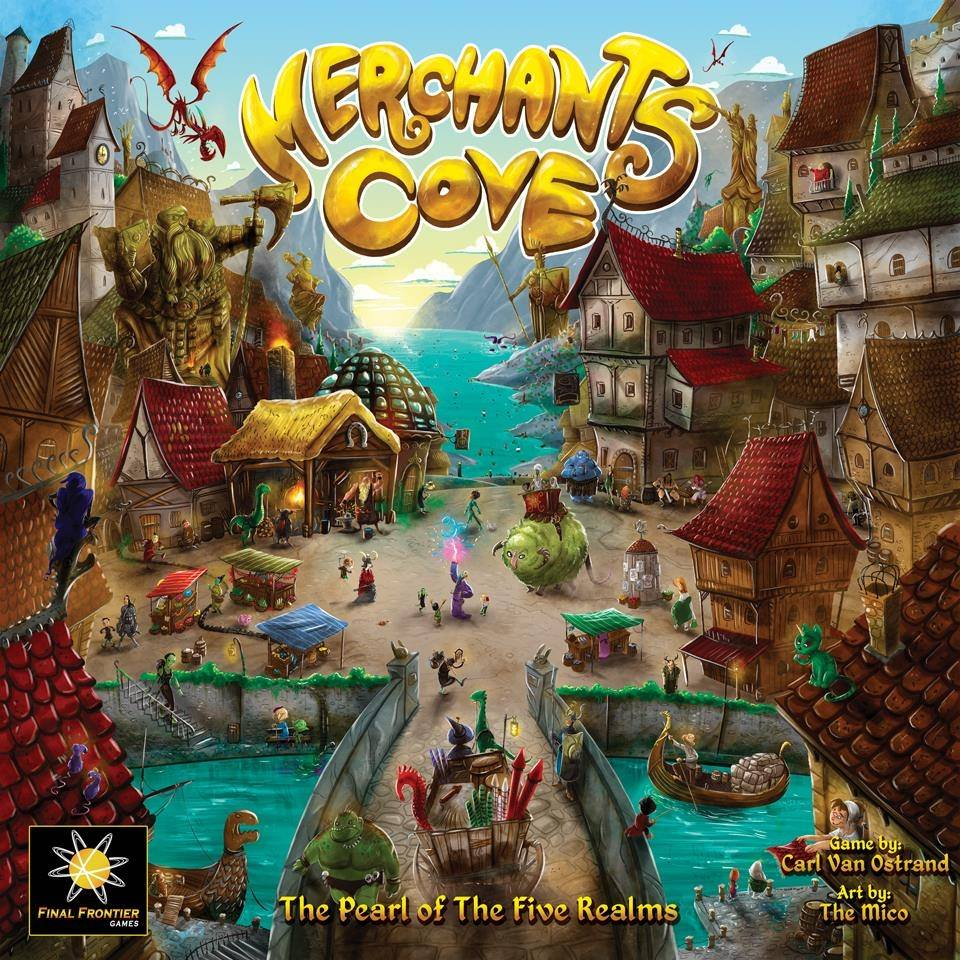 Jeu Merchants Cove par Final Frontier Games