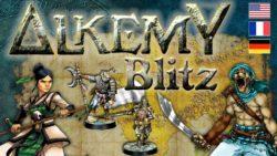 Jeu Alkemy - Kickstarter Alkemy Blitz - KS Alchemist Miniatures