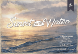 Jeu Sunset Over Water - Kickstarter Sunset Over Water - KS Pencil First Games