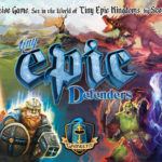 Jeu Tiny Epic Defenders - Kickstarter Tiny Epic Defenders - KS Gamelyn The Dark War
