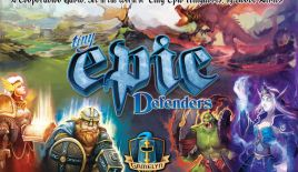 Jeu Tiny Epic Defenders - Kickstarter Tiny Epic Defenders - KS Gamelyn The Dark War