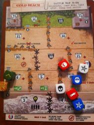 D-Day Dice - Gold Beach