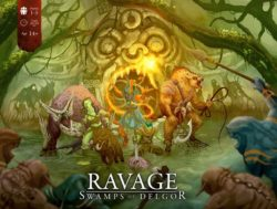 Jeu Ravage: Swamps of Delgor par Beardy Brothers