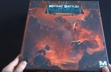 mythic battles hephaistos