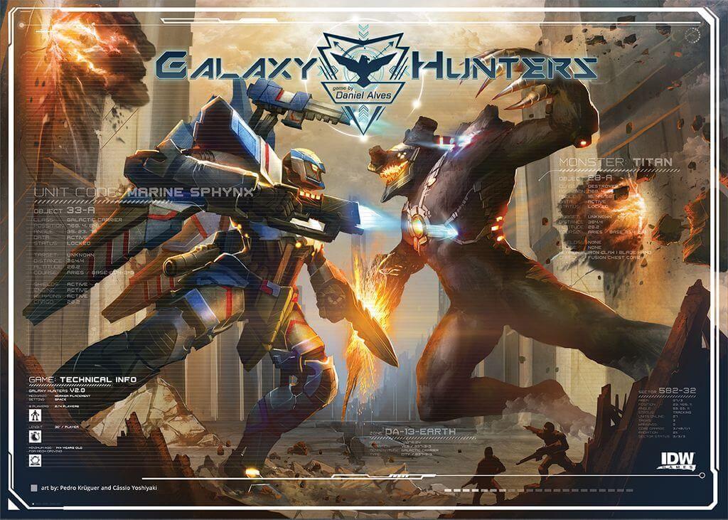 Galaxy Hunters - par IDW