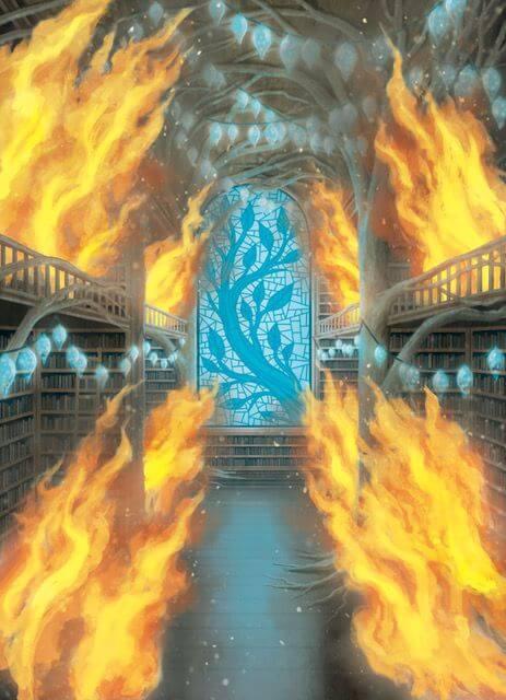 Fire in the Library-Fin de partie