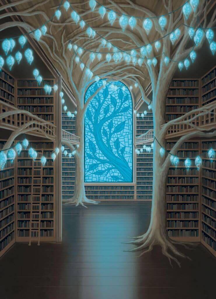 Fire in the Library-Début de partie