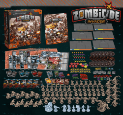 Zombicide Invader-Materiel