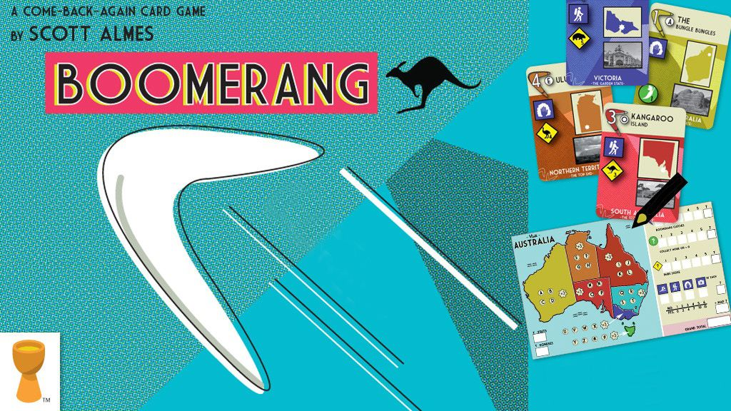 Boomerang le jeu Grail Games