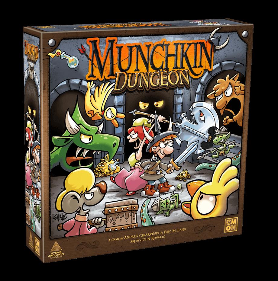 Jeu Munchkin Dungeon par CMON