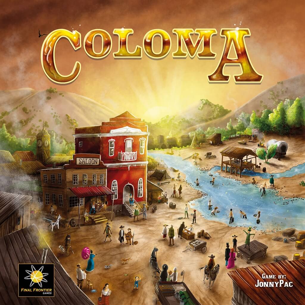 Jeu Coloma par Final Frontier Games