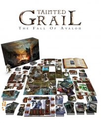 Tainted Grail - Matériel en situation