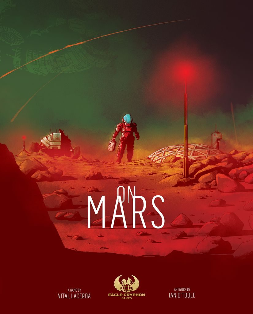 Jeu On Mars de Lacerda par Eagle-Gryphon Games
