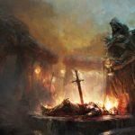 Tainted Grail - Illus. - Jeu de l'année Kickstarter 2018.