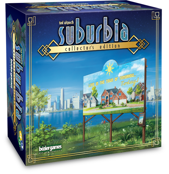 Jeu Suburbia (Edition Collector) par Bézier Games
